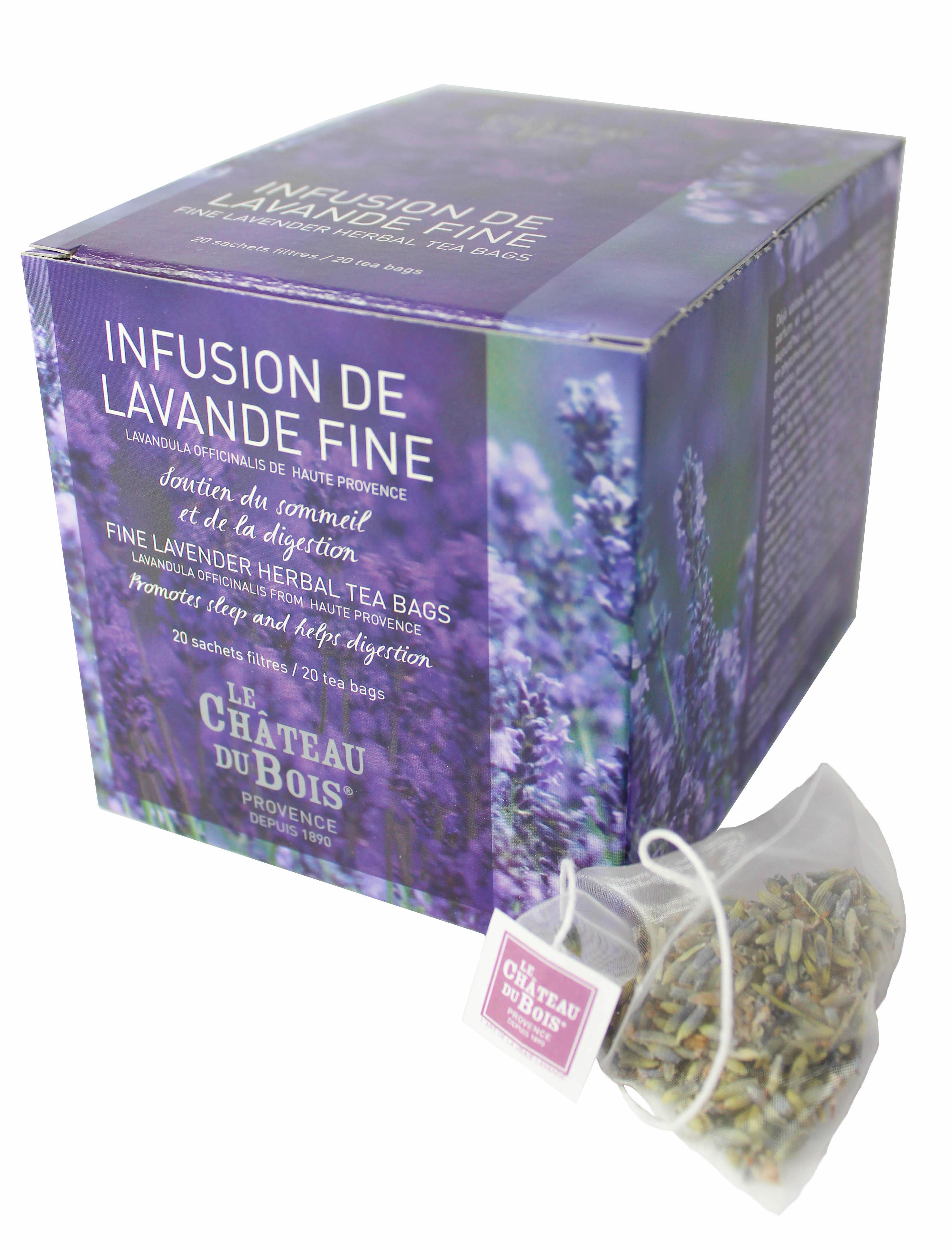 Infusion De Lavande Fine Boite De 20 Infusettes